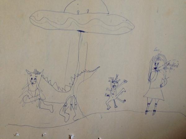 Verstörende UFO Fantasien